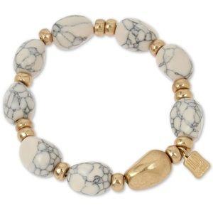 Robert Lee Morris Stone Beaded Stretch Bracelet!!